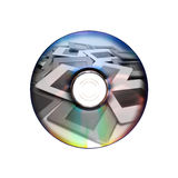 Slides and dvd: two image archiving systems Royalty Free Stock Images