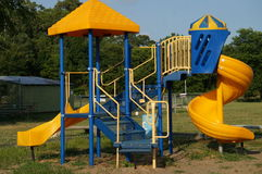 Sliding Board PLayground Equipment Royalty Free Stock Photo