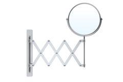 Sliding Chrome Makeup Mirror Royalty Free Stock Image