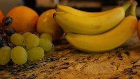 Sliding clip of assorted fruits