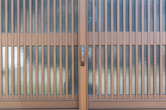 sliding doors Stock Images