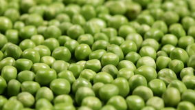 Sliding in front of shelled peas layer stock footage