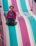 Sliding Fun Royalty Free Stock Photos