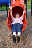 Sliding Grandmother 5 Stock Images