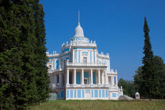 The Sliding Hill Pavilion (Oranienbaum. Russia) Stock Image