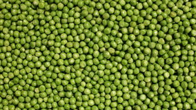 Sliding over shelled peas layer stock footage