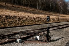 Sliding rail Royalty Free Stock Photo