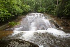 Sliding Rock Falls in North Carolina Royalty Free Stock Photos