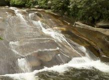Sliding Rock Falls Stock Image