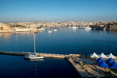 Sliema beachfront. Malta. Stock Photos