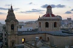 Sliema city at malta island. Old sliema city at malta island Stock Image
