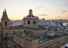 Sliema city at malta island. Old sliema city at malta island Royalty Free Stock Photos
