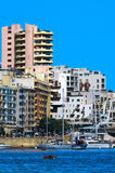 Malta - Panorama of Sliema Royalty Free Stock Photography