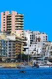 Malta, Coastline view Royalty Free Stock Photography