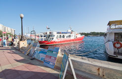Sliema Ferries Royalty Free Stock Images