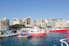 Sliema Ferries Royalty Free Stock Photo
