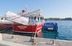 Sliema Ferries Royalty Free Stock Photos