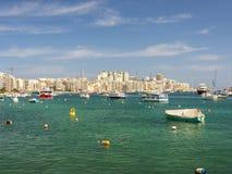 Sliema, Malta Fotos de archivo libres de regalías