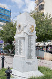 Sliema, Malta - 9 de maio de 2017: Monumento dedicado às vítimas de guerra de Sliema de 1939 - 1945 Imagens de Stock Royalty Free
