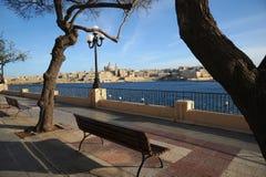 Sliema promenade, Malta. Stock Photos