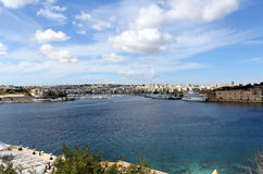 Sliema, Promenade, Mediterranean Sea, Republic of Malta Royalty Free Stock Photo