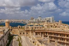 Sliema from St. Elmo Stock Photos