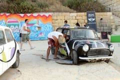 Sliema Street Art Festival Stock Images