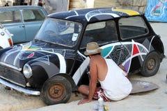 Sliema Street Art Festival Stock Photos