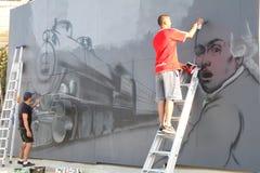 Sliema Street Art Festival Stock Photography