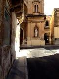 Sliema streetcorner Zdjęcie Royalty Free