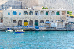 sliema Valletta widok Fotografia Royalty Free