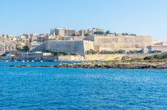 sliema Valletta widok Obraz Royalty Free