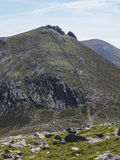 Slieve bernagh in the mourne mountains of ireland Royalty Free Stock Photography