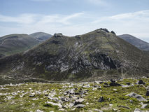 Slieve bernagh in the mourne range Royalty Free Stock Photo