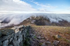 Slieve Donards Wall royalty free stock images