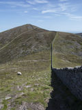 Slieve donnard highest mountain in north ireland Stock Image