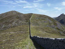 Slieve Donnard the highest mountain in North Ireland Stock Photo