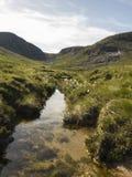 Slieve Donnard il più alta montagna in Irlanda del nord Fotografia Stock