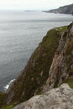 Slieve league cliffs. Royalty Free Stock Images