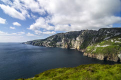 Slieve League, Cliffs of Bunglass, Ireland Stock Image