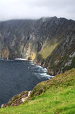 Slieve League cliffs in Donegal Royalty Free Stock Photography