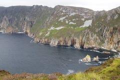 Slieve League cliffs, Ireland Royalty Free Stock Photography