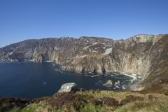 Slieve League Stock Photography