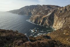 Slieve League Royalty Free Stock Photography