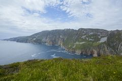 Slieve League Royalty Free Stock Image