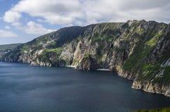Slieve liga, klippor av Bunglass, Irland Royaltyfria Foton