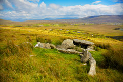 Slievemore dolmen Royalty Free Stock Image