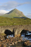 Sligachan Bridge and Marsco Stock Photos