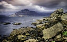 Sligachan, ilha de Skye, Escócia Fotos de Stock