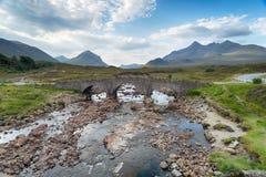 Sligachan on the Isle of Skye Stock Photography